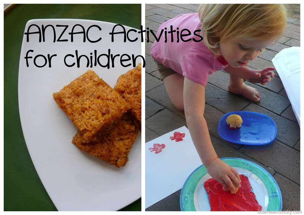Anzac Day Activities For Children Octavia Vicky