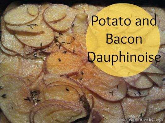 Potato and Bacon Dauphinoise