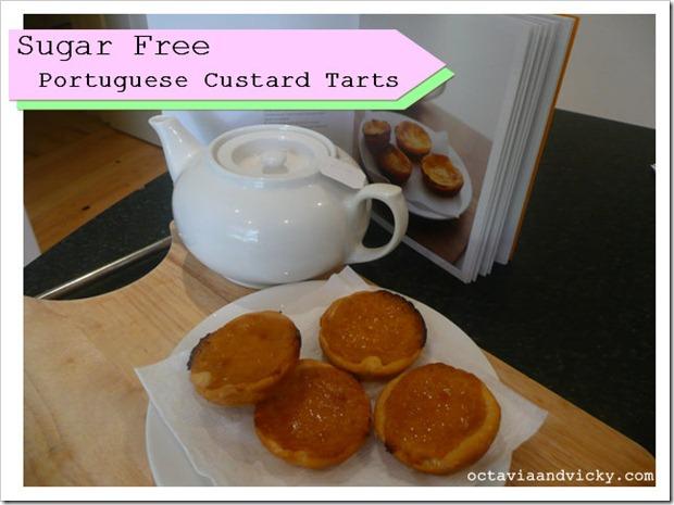 sugar free portuguese tarts